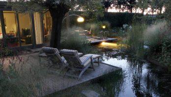 Natuurlijke welness in de tuin