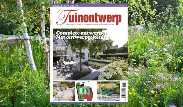 Special Tuinontwerp voor liefhebbers van eigentijdse tuinen