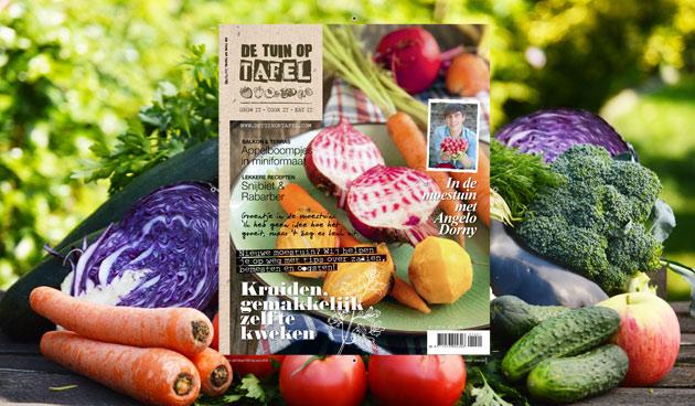 De Tuin op Tafel – editie 1