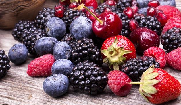Zomerfruit en groenten invriezen
