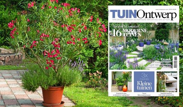 TUINOntwerp 2/2016 vol ideeën en tips voor de inrichting van je tuin