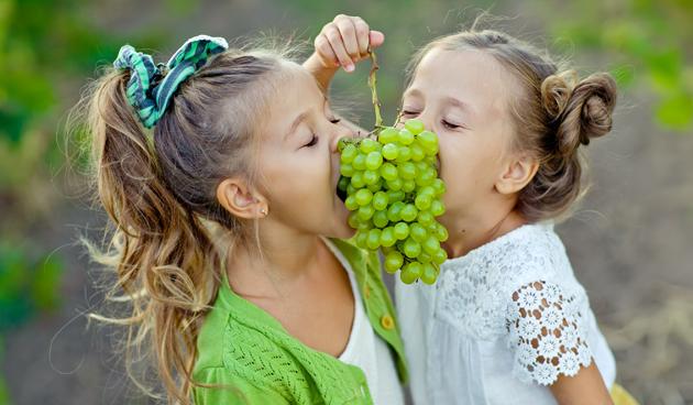 Druiven in eigen tuin