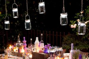 consol jar - tuinlamp