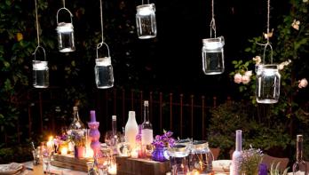 Tuinverlichting voor meer sfeer in de tuin