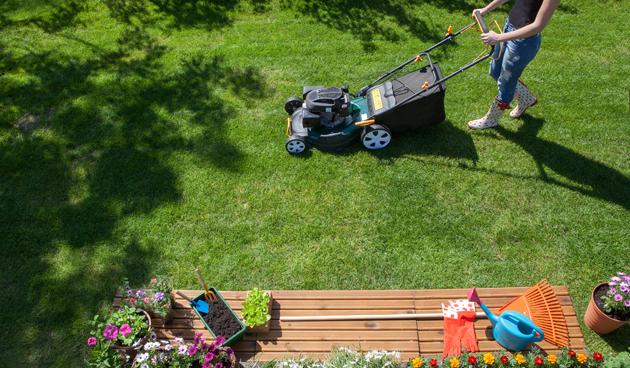 warm en droog weer: hoe zit dat met grasmaaien?