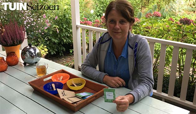 Zaden oogsten – Tuinvlog