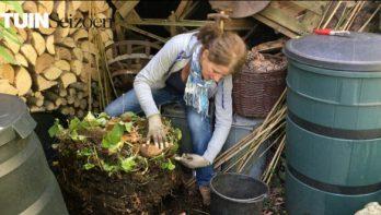 Zelf compost maken - Tuinvlog