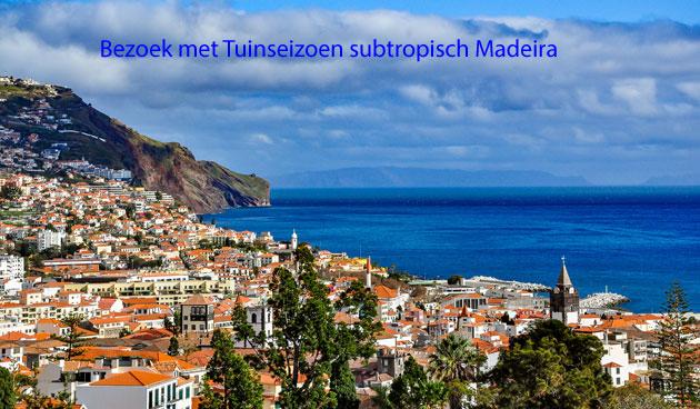8-daagse tuinen- en cultuurreis naar subtropisch Madeira
