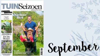 Tuinseizoen september 2018