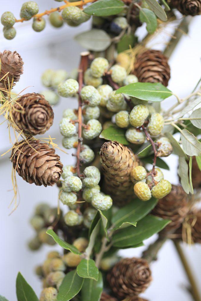 Kerstboom wilgentakken en groen