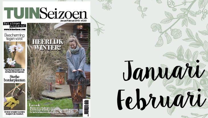 Tuinseizoen januari-februari 2019