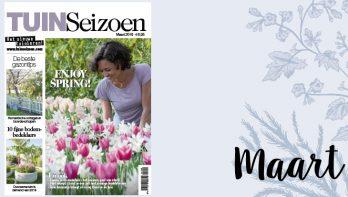Tuinseizoen maart 2019