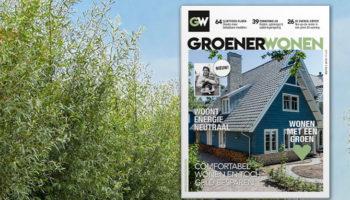 Groener Wonen, tijdschrift, nieuw, magazine, duurzaamheid, bruna, kortingsbon, actie
