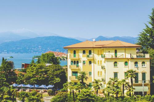 hotel Flora*** in Stresa