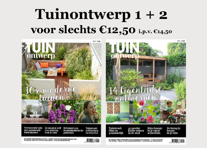 Tuinontwerp specials pakket