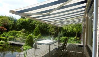 Schaduw en privacy in de tuin met zonwering