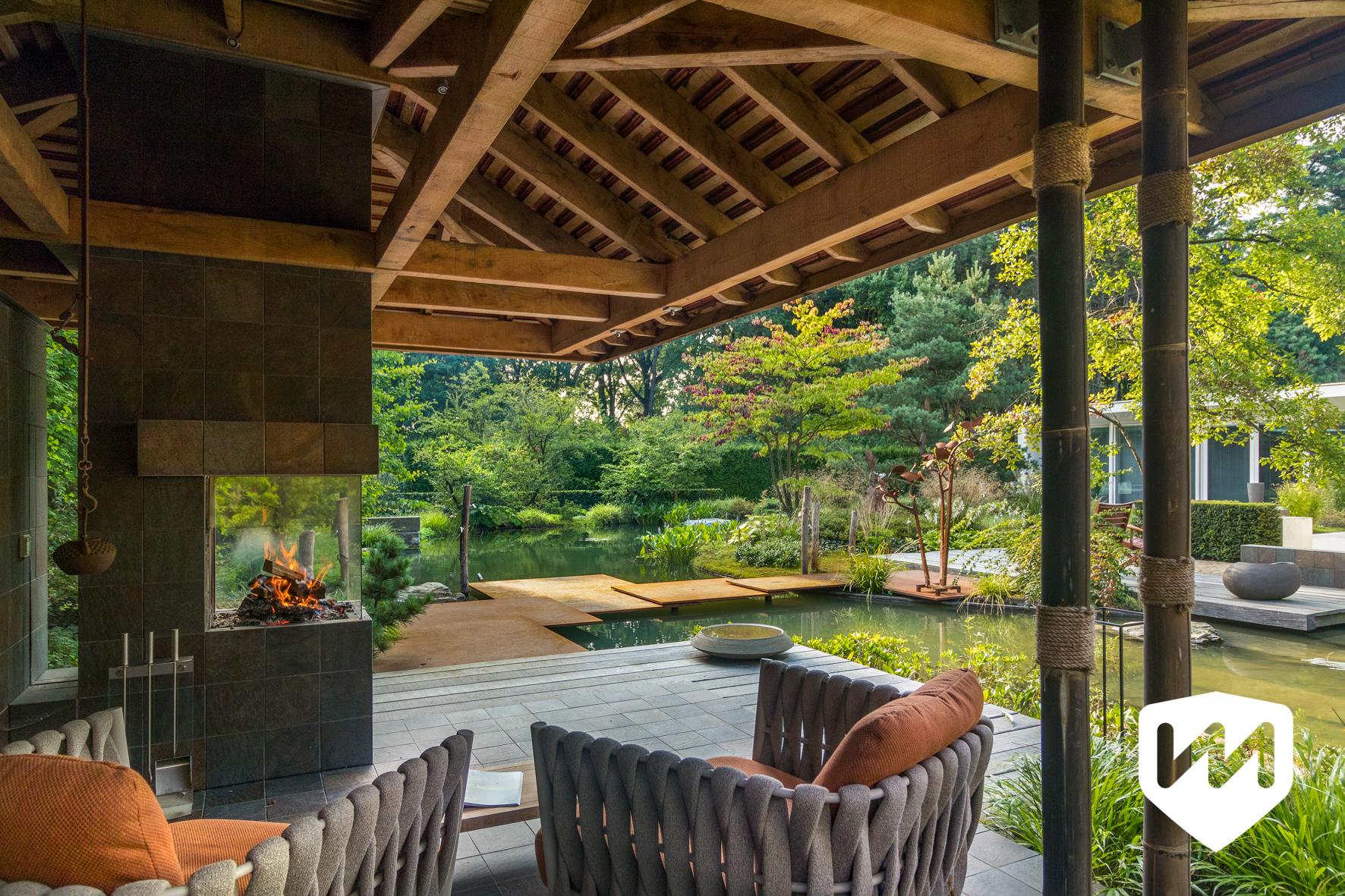 Japanse watertuin, Noël van Mierlo, Tuinontwerp, tuinseizoen