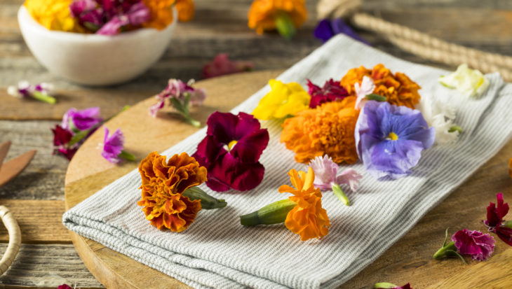 10x eetbare bloemen
