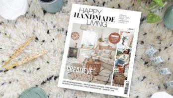 Nieuw creatief magazine: Happy Handmade Living