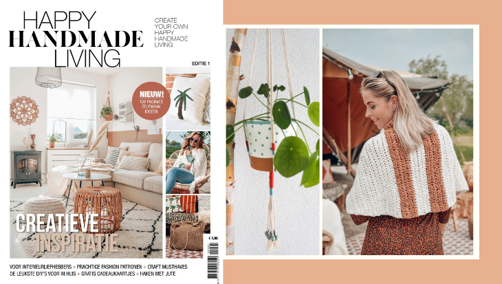 Happy Handmade Living magazine