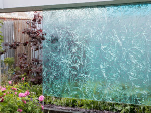 watermuur binnentuin