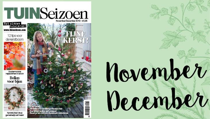 Tuinseizoen november-december 2019