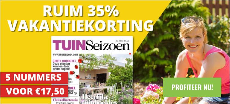 Tuinseizoen abonnement