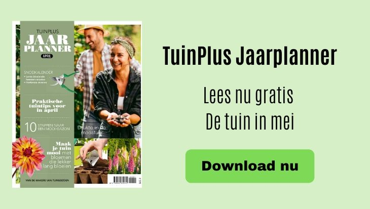 TuinPlus Jaarplanner maand mei tuinklusjes