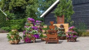 Stapeltuin - Verticaal tuinieren voor meer tuinplezier op één m²