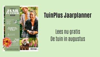 TuinPlus jaarplanner augustus