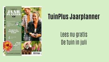 TuinPlus jaarplanner juli