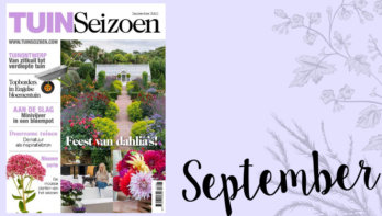 Tuinseizoen september 2020