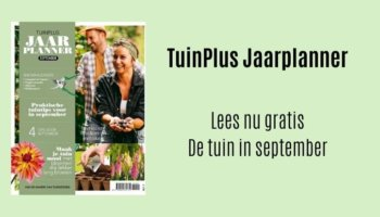 Tuinplus jaarplanner september