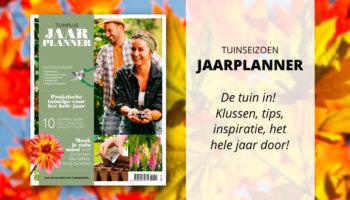Tuinseizoen Jaarplanner najaar 2020