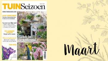 Tuinseizoen maart 2021