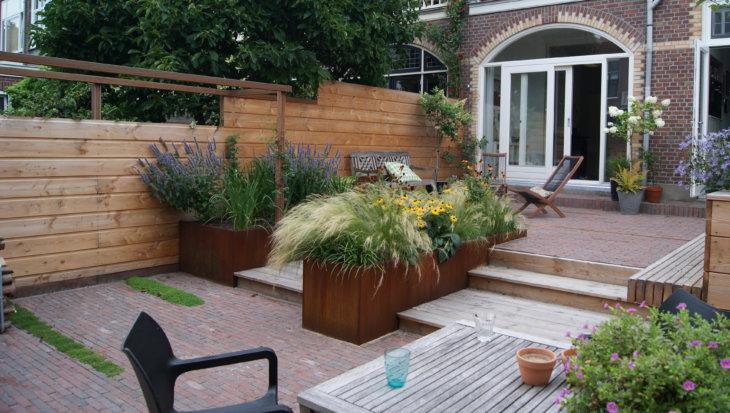 Tuinontwerp: Flexibele terrassen