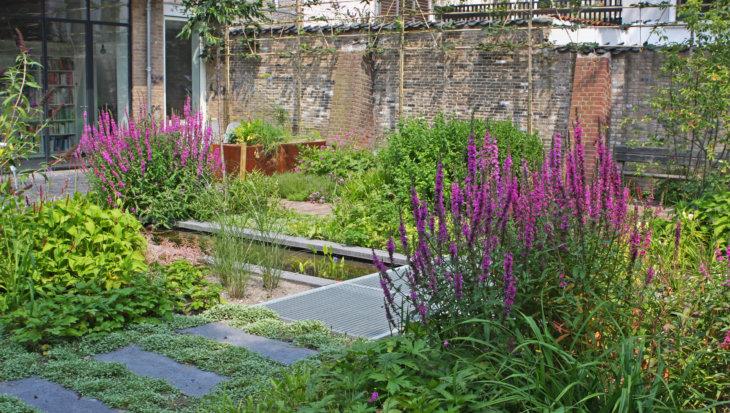 Tuinontwerp: Looproutes door de tuin