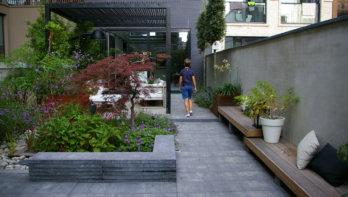 Tuinontwerp: Sfeer van een intieme patio