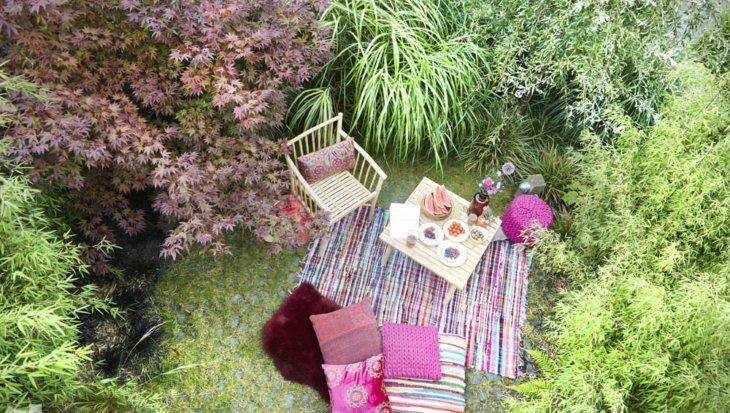 Tuinontwerp: Bohemian paradise
