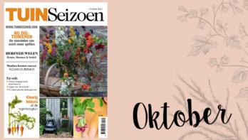 Tuinseizoen oktober 2021